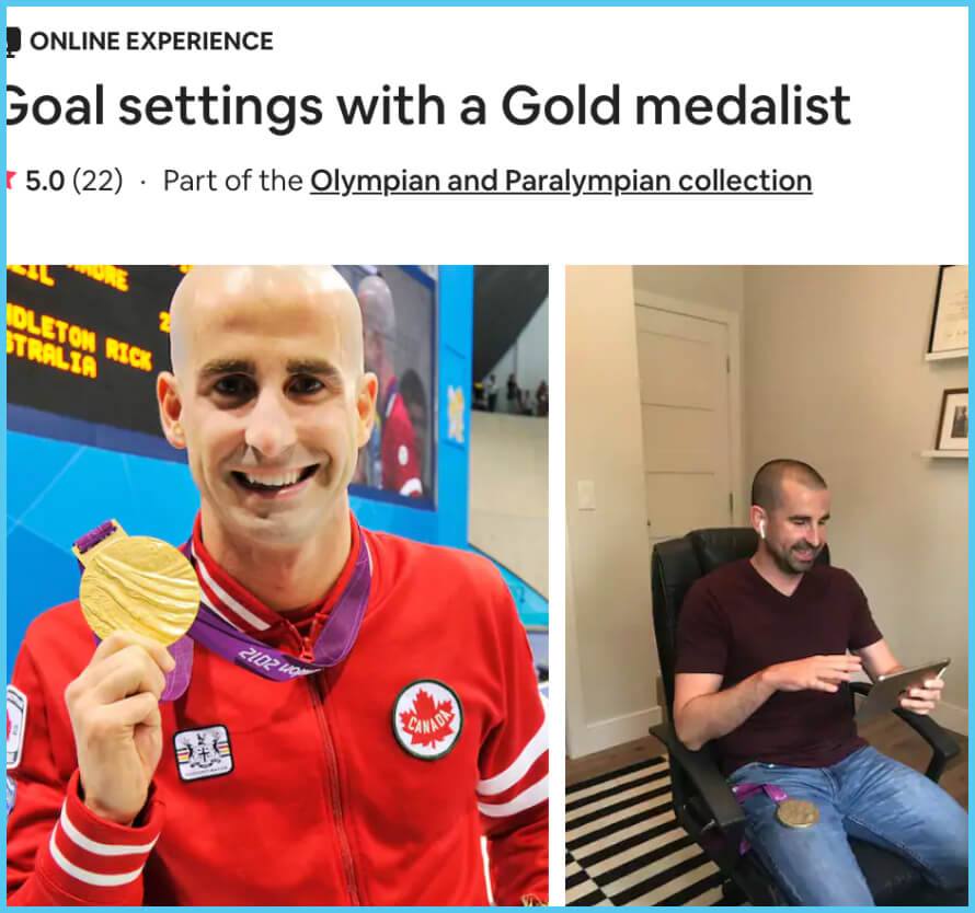 Goal Settings with a Gold Medalist